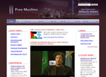 Screenshot of FreeMuslims.org