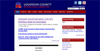 Screenshot of LoudounGOP.com